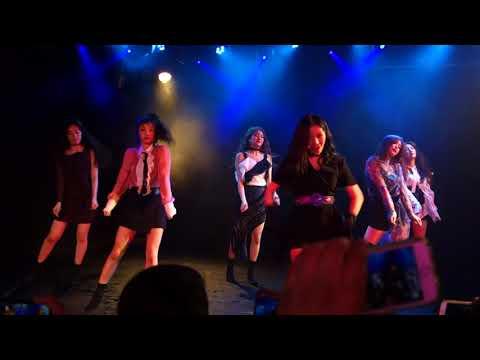 [FANCAM] 180805 (G)I-DLE Performs Latata @ (Le) Poisson Rouge [KPOP United Vol. 3]