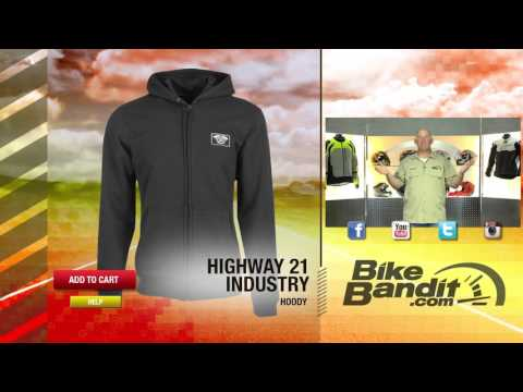 Highway 21 Industry Motorcycle Hoodie | BikeBandit.com