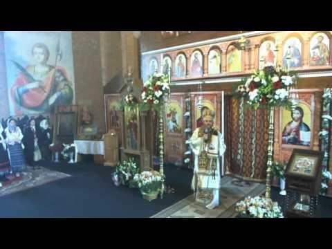 Predica PS Ambrozie - Sf. Mare Mucenic Gheorghe - Noua Catedrala Episcopala din Giurgiu 2017