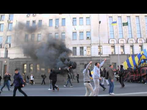 Это Харьков, детка! Путин х*йло! ФК Металлист + Шахтер (18+)
