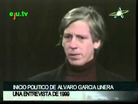 Alvaro Garcia Linera Joven de álvaro García Linera