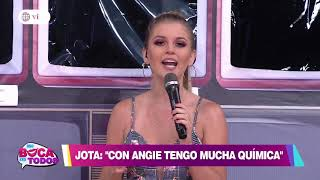 Jota Benz: Angie Arizaga me gusta como para enamorada