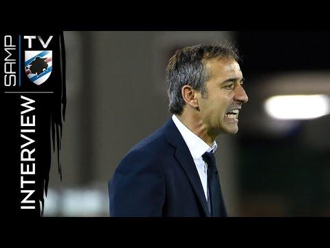 Cagliari-Sampdoria, Giampaolo: «Reagiamo con rabbia»