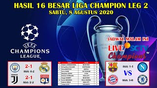 Hasil Liga Champion Tadi Malam 16 Besar Leg 2 ~ Juventus VS Lyon UEFA Champions League 2020