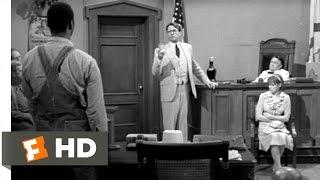 To Kill a Mockingbird (4/10) Movie CLIP - Atticus Cross-Examines Mayella (1962) HD