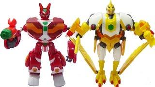 Siêu nhân kết hợp Thỏ Vui Vẻ - Đại bàng nghiêm khắc - Siêu Robot Tốc độ