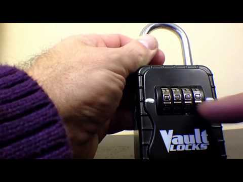 How to unlock Alarca mechanical lockbox from your Charlotte Rental Home
