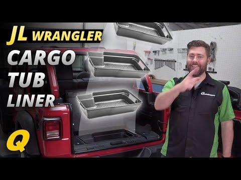 Mopar Cargo Tub Liner for 2018 Jeep Wrangler JL Trick Shot