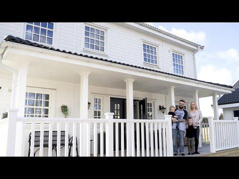 Myresjöhus - Följ med hem till familjen Teodorsson Lindell
