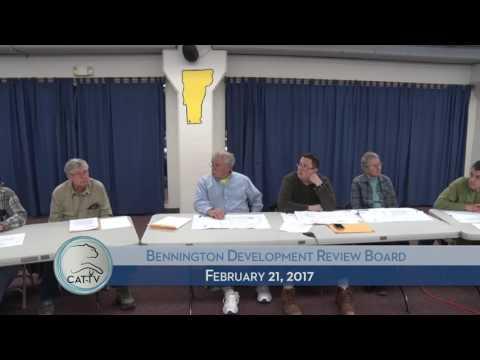 Bennington Development Review Board - 2/21/17