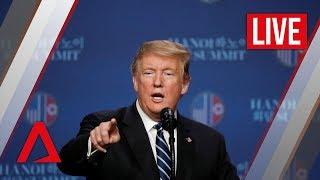 [LIVE HD] Trump-Kim summit: Donald Trump speaks at press conference
