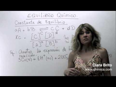 Equilibrio químico 2
