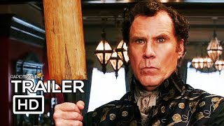 HOLMES AND WATSON Official Trailer (2018) Will Ferrell, John C. Reilly Movie HD