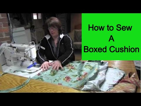 How To Make Cushion Cover Youtube