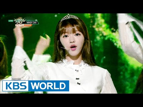 OH MY GIRL (오마이걸) - WINDY DAY [Music Bank / 2016.05.27]