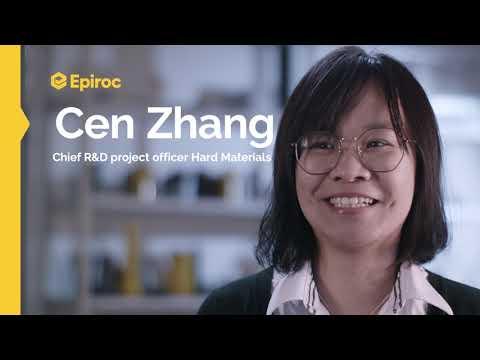 Women at Epiroc: Cen Zhang