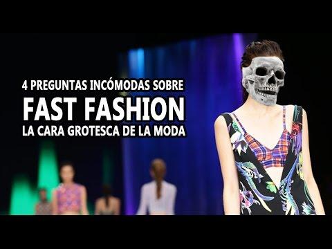 Fast Fashion: la cara grotesca de la moda