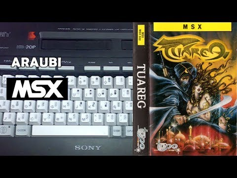Tuareg (Topo Soft, 1988) MSX [176] El Kiosko