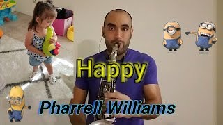 Happy - Pharrell Williams (sax cover Mr. Esteban Sax)