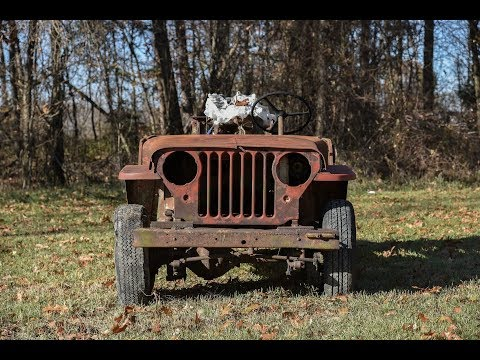 Willys Jeep-A-Trench Walk Around