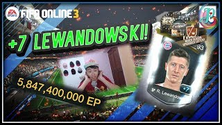 ~WOW +7 LEWANDOWSKI~ MIXED SEASON UPGRADED LOTTERY OPENING - FIFA ONLINE 3