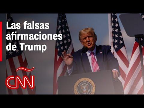 ¿Por qué son falsas las afirmaciones de Trump sobre el fraude electoral?