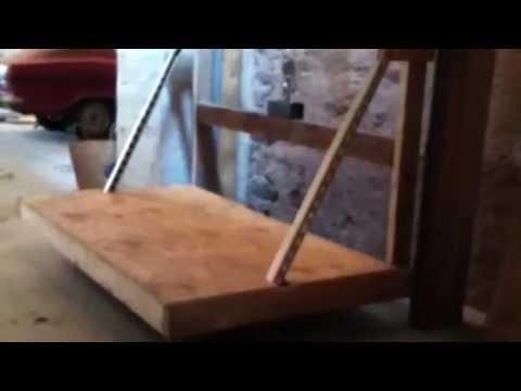 Garage Attic Elevator Youtube
