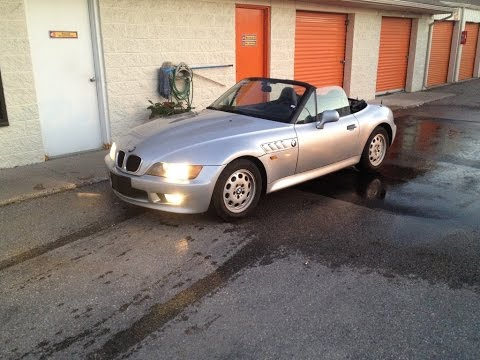 1997 BMW Z3 5 Speed Imported German Spec Roadster 120kms in Toronto, Canada.
