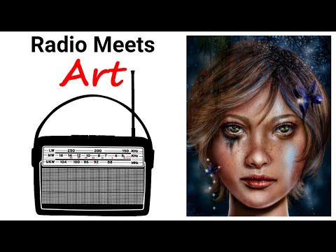 Worlds Collide!  Ham Radio Meets Fine Art