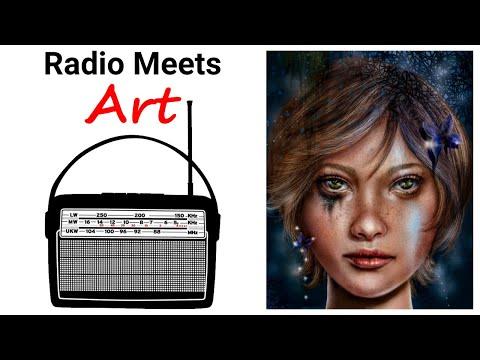 Worlds Collide!  Ham Radio Meets Fine Art