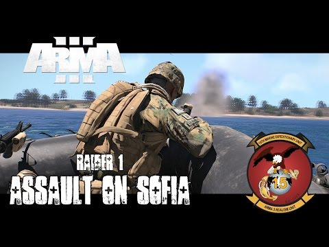 Raider 1 - Assault on Sofia - ArmA 3 Co-op Gameplay