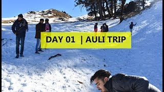 Delhi to Auli Road trip via Dehradun & mussoorie and snow trek, Uttarakhand