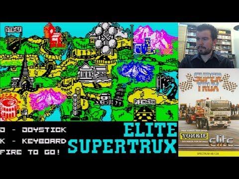 SUPER TRUX (ZX Spectrum) - Carreras de camiones por toda Europa || Gameplay Español
