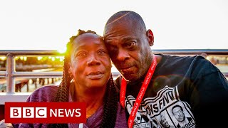 When a homeless couple moved in with a millionaire - BBC News
