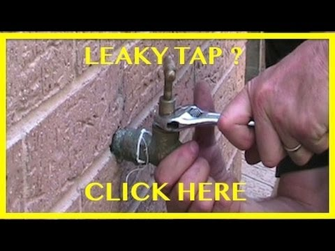 How To Change A Tap Washer How To Fix A Dripping Tap
