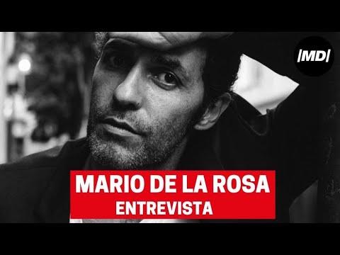 """Entrevista al actor Mario de la Rosa: """"A la gente le sorprende que haya escrito una novela»"""