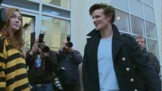 Matt Smith goes back to school - Doctor Who Confidential