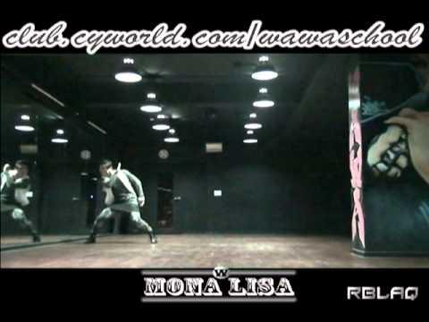 WAWA DANCE ACADEMY MBLAQ MONALISA DANCE STEP