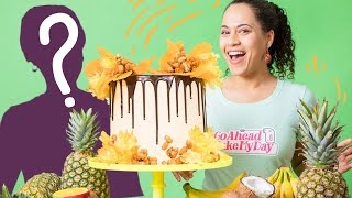 My MOM Comes To The Kitchen! Making a Spice Island Grenada MEGA Cake   How To Cake It