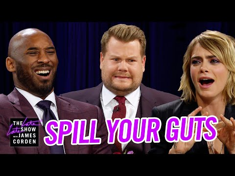 Spill Your Guts or Fill Your Guts w/ Kobe Bryant & Cara Delevingne