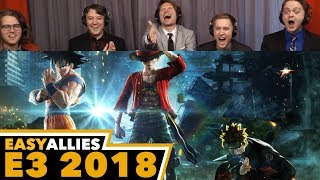 Jump Force - Easy Allies Reactions - E3 2018