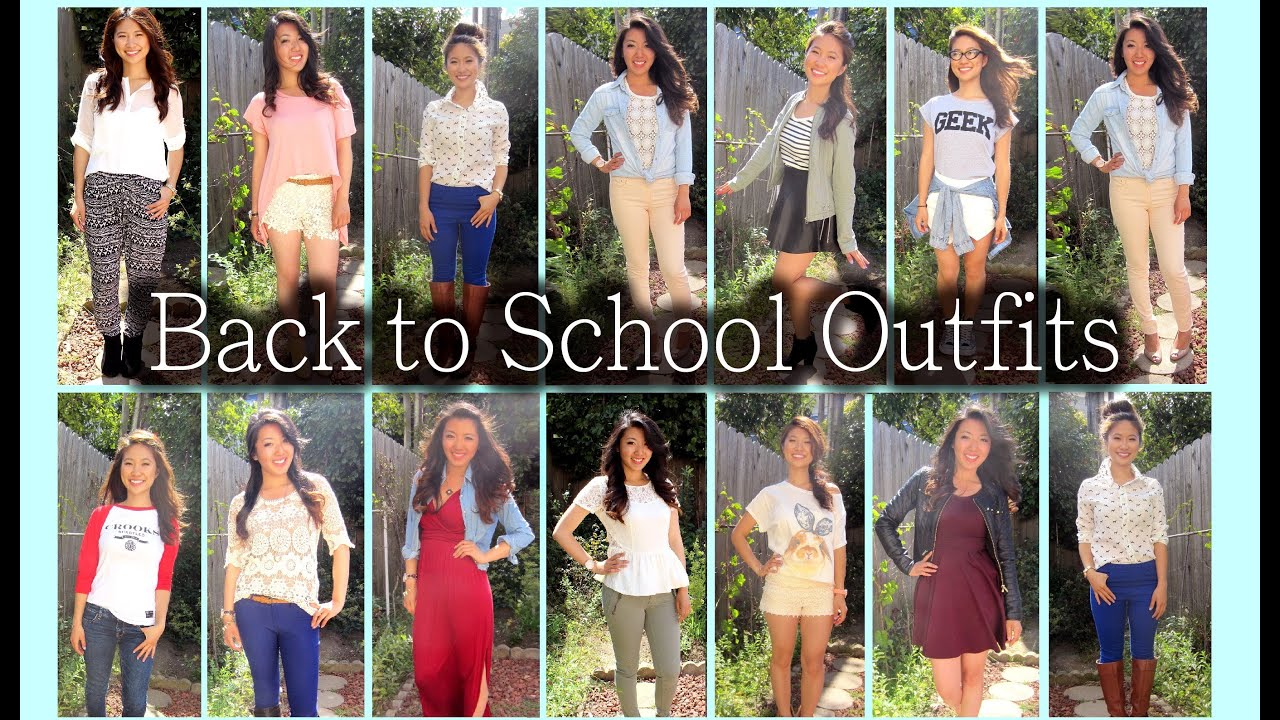 First day of high school freshman outfits