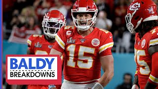 There's Nothing MVP Patrick Mahomes Can't Do!   Baldy Breakdowns