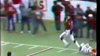 Keith Jackson's famous reverse