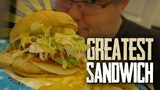 THE GREATEST CHICKEN SANDWICH EVER!
