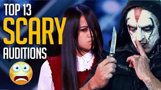 Top 13 SCARIEST Chilling Acts On Got Talent Worldwide Will Give You The CREEPS!