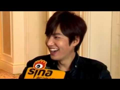 Lee Min Ho - His interview 2014 via Sina (Funny Edited)