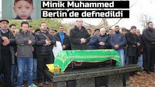 Minik Muhammed dualarla Berlin´de defnedildi