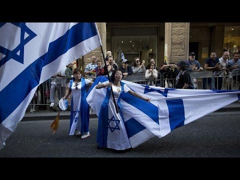 Erőszakba torkollott a Jeruzsálem óvárosába tartó izraeli zászlós felvonulás