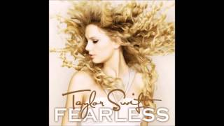 Taylor Swift - Fearless (Audio)